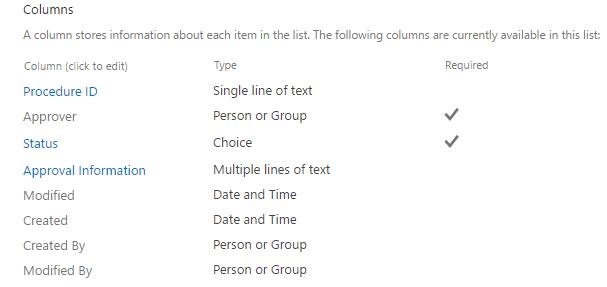 List Columns