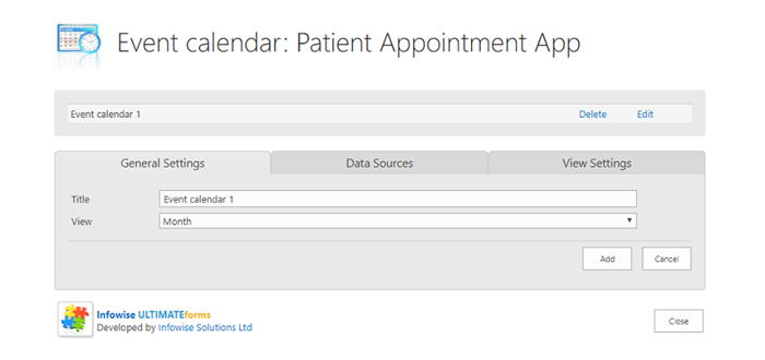 SharePoint Patient Appointment