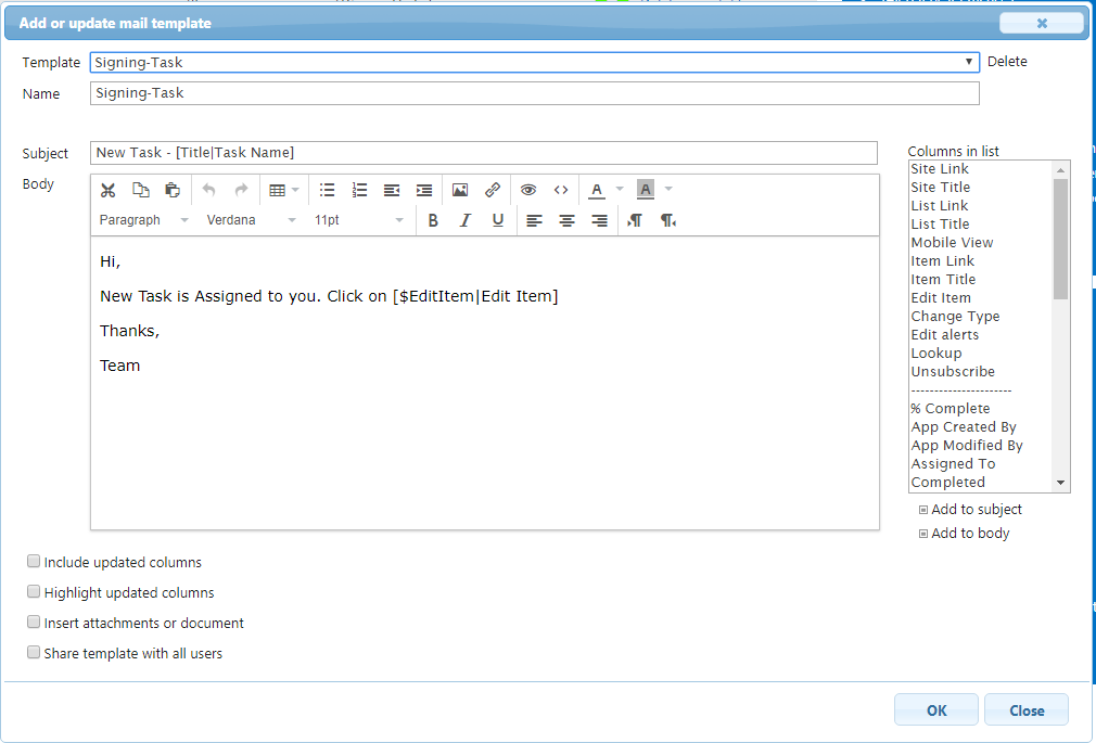 Read and Sign documents using Infowise Ultimate Forms in