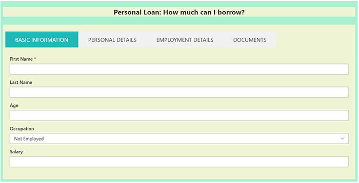 Creating Personal Loan Calculator- SharePoint