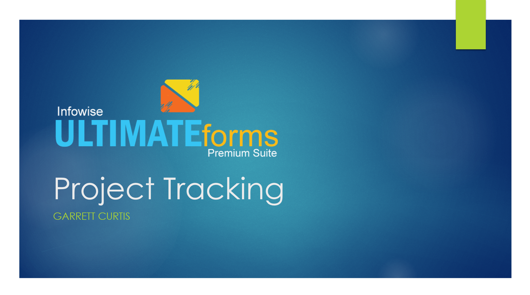 Project Tracking Home