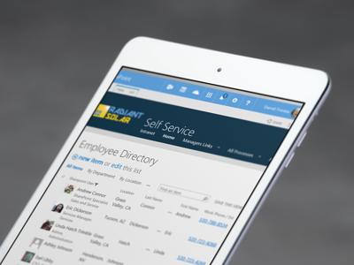 SP Employee Self Service Portal - Free SharePoint Business